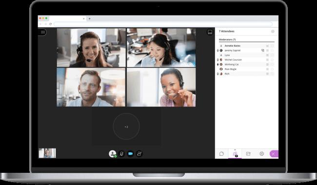 aula virtual video conferencia
