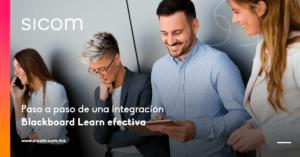 Paso a paso de una integración Blackboard Learn efectiva