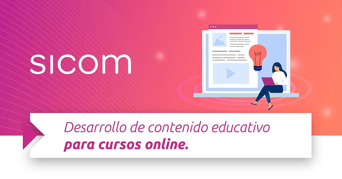 Desarrollo de contenido educativo para cursos online